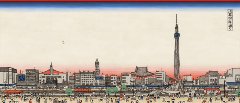 Asakusa trong lịch sử Nhật Bản – phần 4: từ sau chiến tranh thế giới đến hiện nay