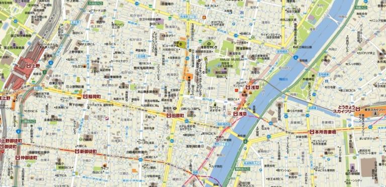 Asakusa nằm ở đâu?