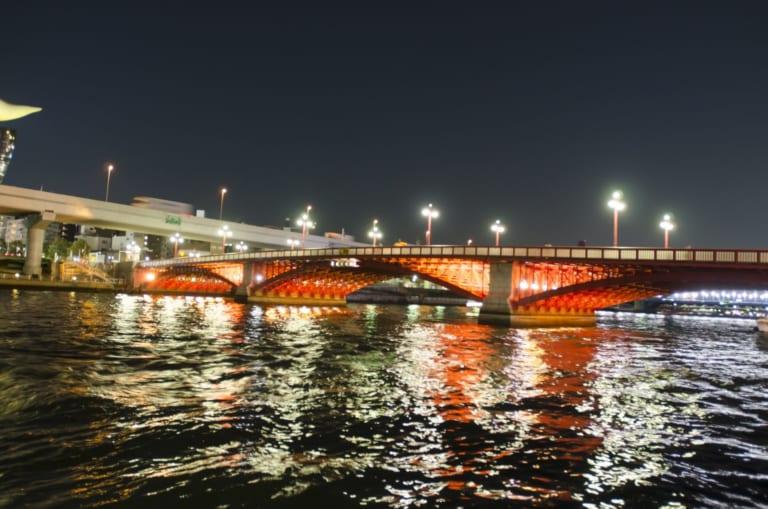 Chuyện những cây cầu trên sông Sumida