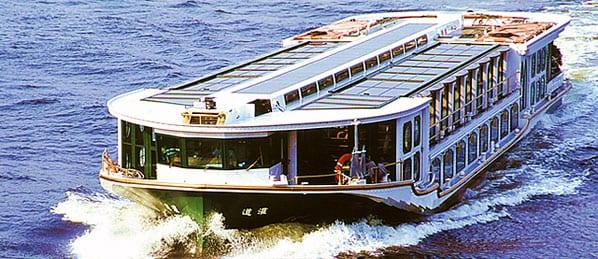 """Nên thử một lần: du ngoạn sông Sumida bằng """"tàu buýt""""!"""