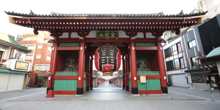 Asakusa giữa lòng Asakusa (1) – Cổng Kaminarimon