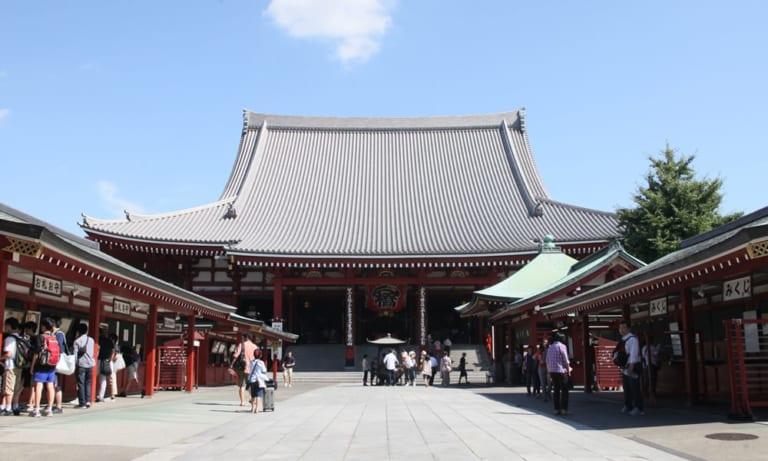 Asakusa giữa lòng Asakusa (3) – Chính điện chùa Sensōji