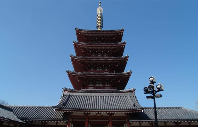 Asakusa giữa lòng Asakusa (4) – Tháp Gojū-no-tō