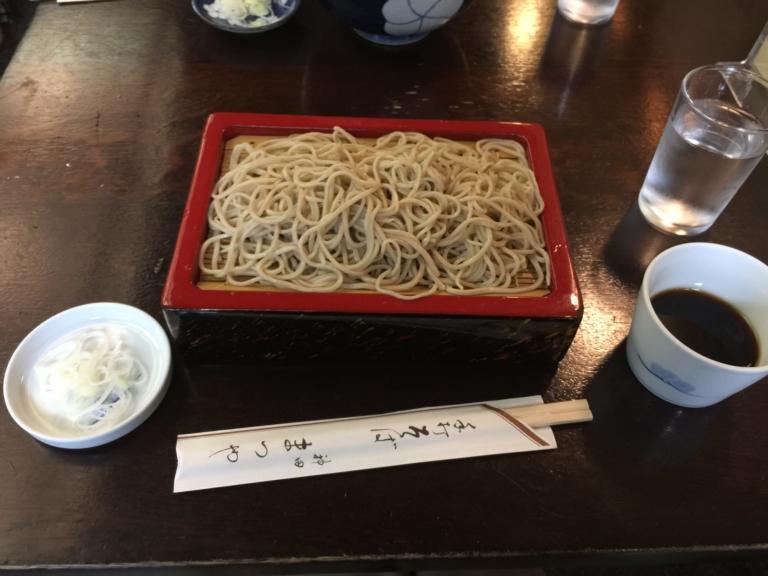Cách ăn mì soba và các quán ăn lâu đời tại Tokyo