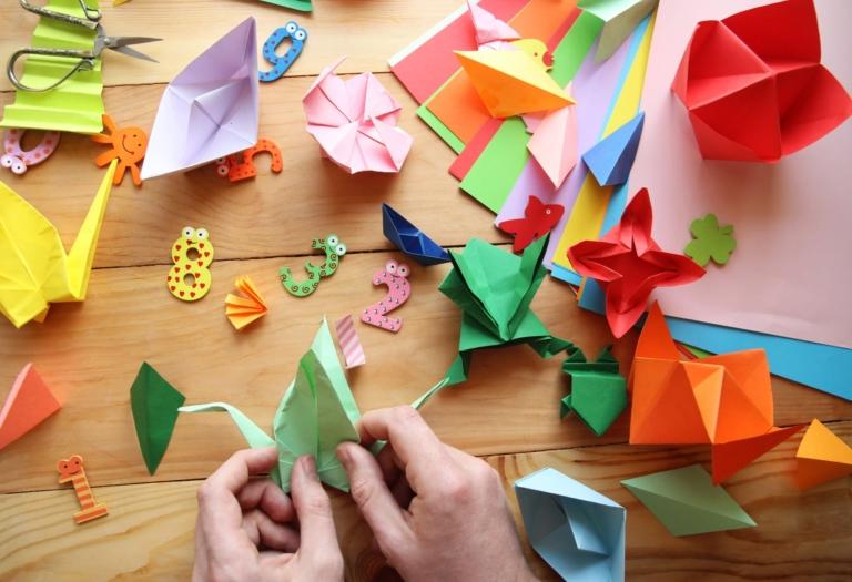 """Sự lựa chọn tuyệt vời trong việc giáo dục trẻ nhỏ – """"Origami"""" truyền thống Nhật Bản"""