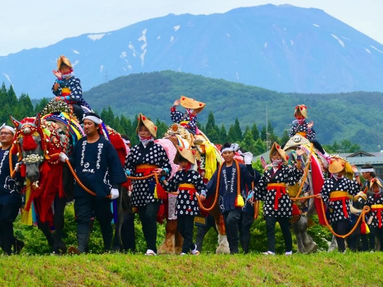 """Lễ hội Nhật Bản – """"Lễ hội  Chagu Chagu Umakko"""" vào trung tuần tháng 6 ở tỉnh Iwate"""