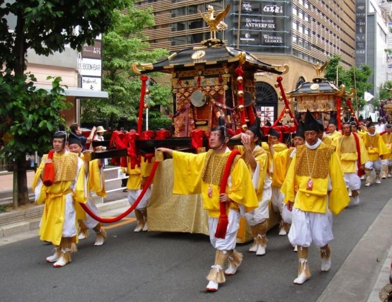 """Lễ hội Nhật Bản – """"Lễ hội Sanno Matsuri"""" vào trung tuần tháng 6 ở Tokyo"""