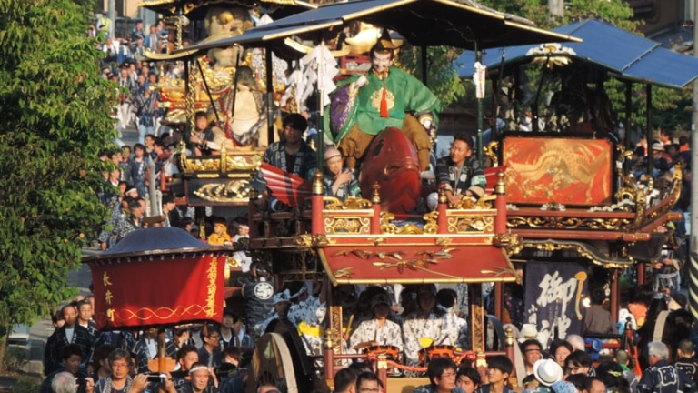 """Lễ hội Nhật Bản – """"Lễ hội Murakami-Taisai"""" vào đầu tháng 7 tại Niigata"""