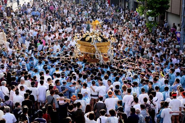 """Lễ hội Nhật Bản – """"Lễ hội Torikoe"""" đầu tháng 6 ở Tokyo"""