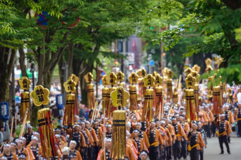 """Lễ hội Nhật Bản – """"Lễ hội Kanazawa Hyakumangoku"""" đầu tháng 6 tại tỉnh Ishikawa"""