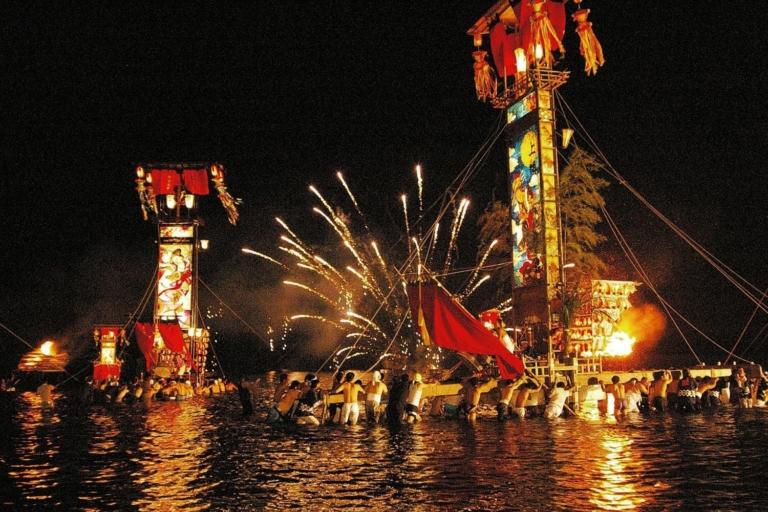 """Lễ hội Nhật Bản – """"Lễ hội Noto Kiriko"""" vào tháng 7 đến tháng 9 tại tỉnh Ishikawa"""