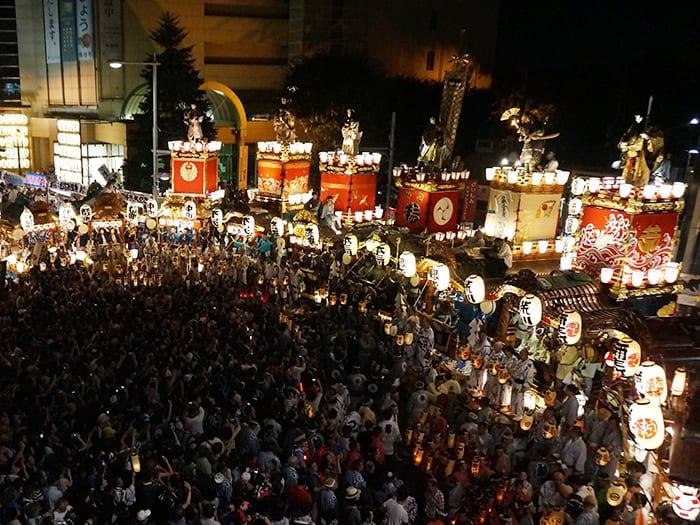 """Lễ hội Nhật Bản – """"Lễ hội quạt giấy Uchiwa Kumagaya"""" vào giữa tháng 7 tại tỉnh Saitama"""