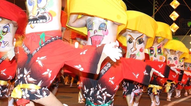 """Lễ hội Nhật Bản – """"Lễ hội Rốn biển Bắc"""" cuối tháng 7 ở Hokkaido"""