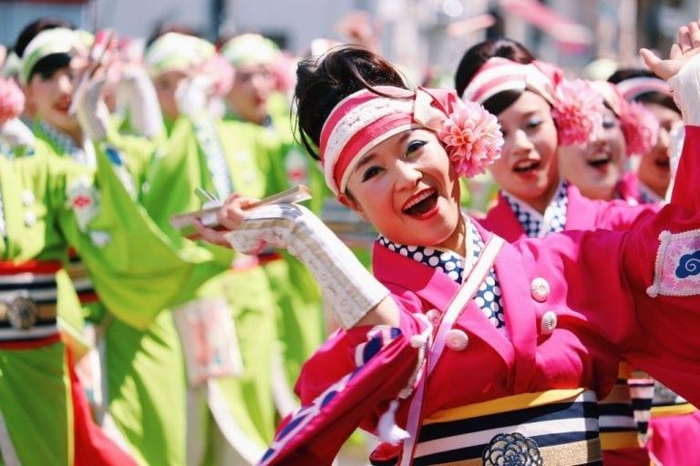 """Lễ hội Nhật Bản – """"Lễ hội Yosakoi"""" vào thượng tuần tháng 8 tại tỉnh Kochi"""