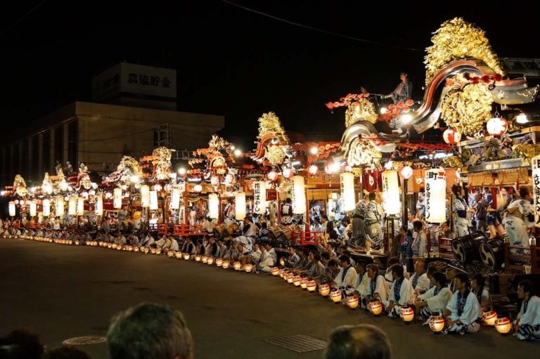 """Lệ hội Nhật Bản – """"Lễ hội Hanawa Bayashi"""" giữa tháng 8 ở tỉnh Akita"""