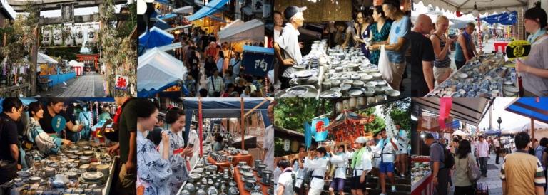 """Lễ hội Nhật Bản – """"Lễ hội gốm sứ Gojozaka"""" đầu tháng 8 tại Kyoto"""