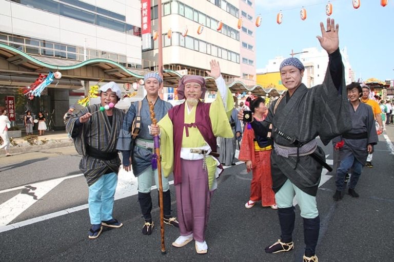 """Lễ hội Nhật Bản – """"Lễ hội Mito Komon"""" đầu tháng 8 ở tỉnh Ibaraki"""