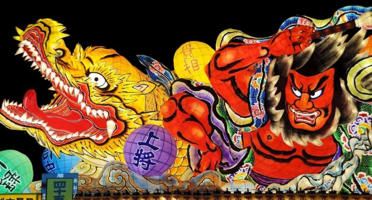 """Lễ hội Nhật Bản – """"Lễ hội Aomori Nebuta"""" vào thượng tuần tháng 8 ở tỉnh Aomori"""
