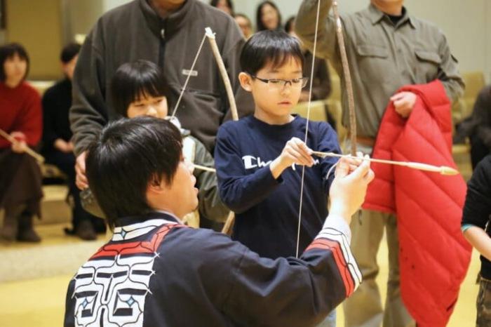 trải nghiệm văn hóa Ainu