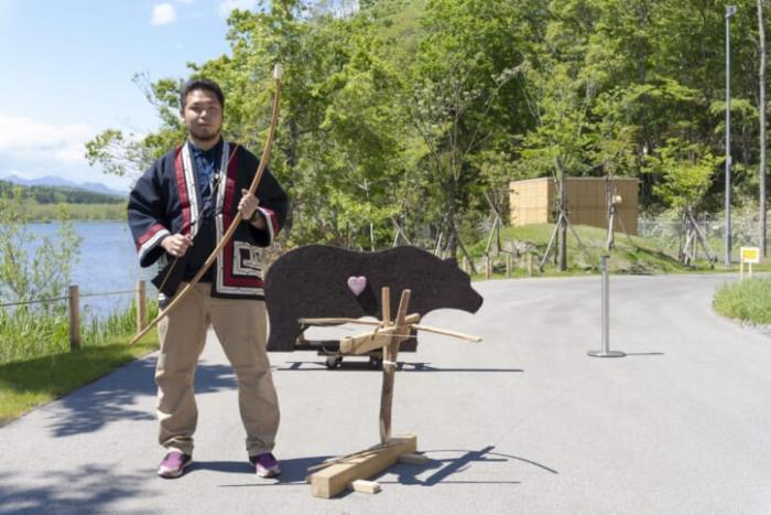 hoạt động săn gấu của người Ainu