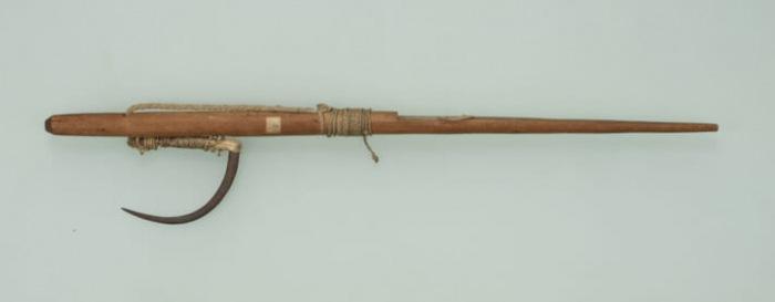 Dụng cụ đánh cá hồi của người Ainu